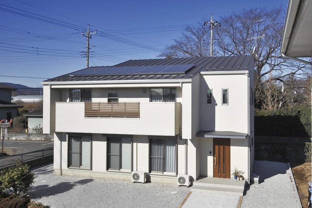 太陽光のお家
